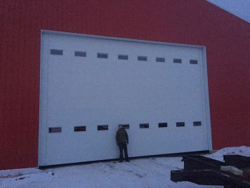 Massive Overhead Door 30 Wide 20 High